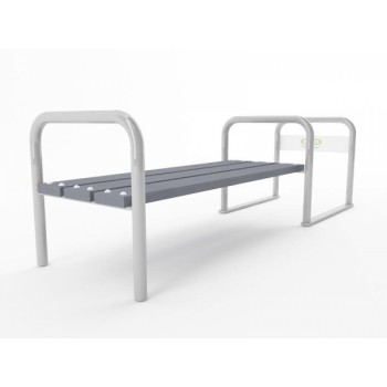 Велопарковка - скамейка