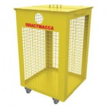 ТБО контейнер для пластика Torvest 79кд