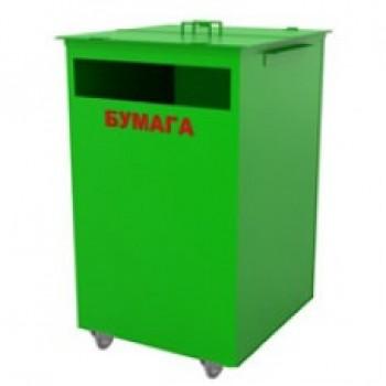 ТБО контейнер для пластика Torvest 80кд