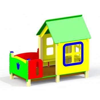 Детский игровой тематический домик