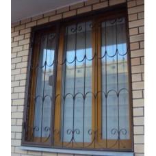 Решетки на окна (пример)