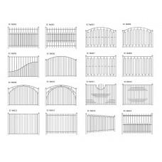Забор сварной арт.003ТВ